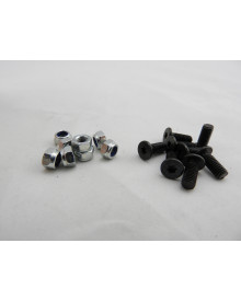 SPLIT - Wom M/12 screws ( black )