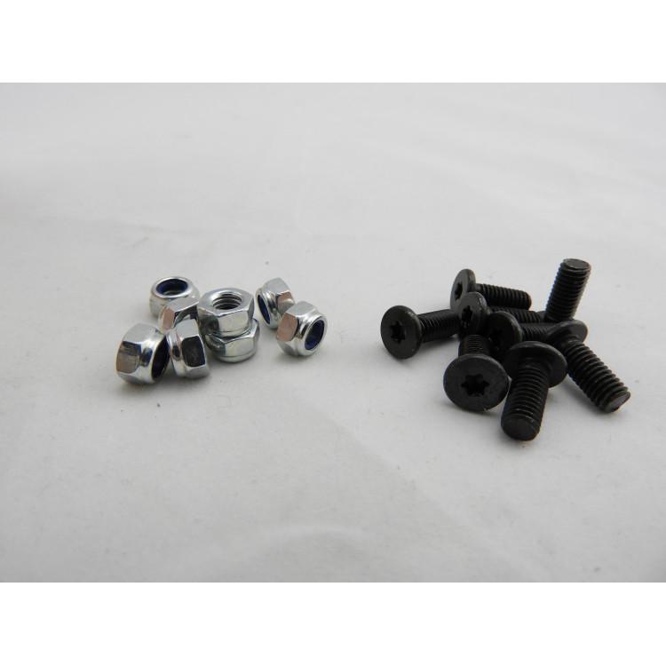 Schraube WOM M5/12 ( schwarz )