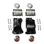 GUIDE - Plastic bodies + screws + springs + plastic cork + pads