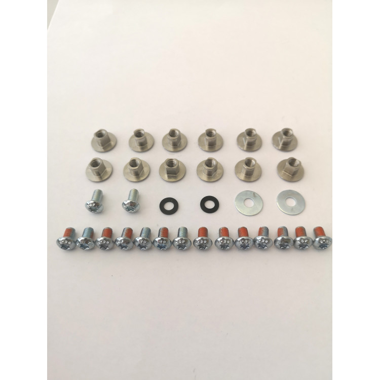 SPLIT - Straps/caps Feyan screws set