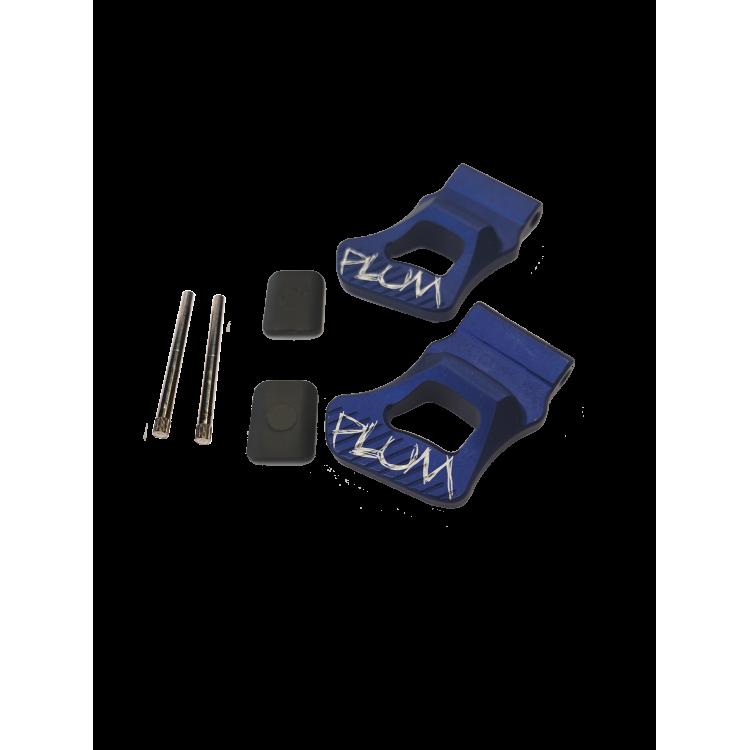 PIKA - Heel risers + pins + elastic plates