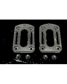 GUIDE - Adjustment plates 30 mm + screws
