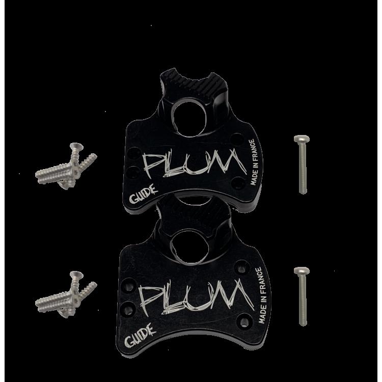 GUIDE - Hoods + screws + release adjustment screws