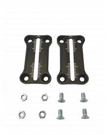 R170 - Adjustment plates + screws + nuts
